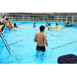 河南沃金(图)|支架游泳池定做|吴忠市支架游泳池图片
