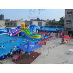 河南沃金(多图),移动水上乐园加盟,青冈县移动水上乐园图片