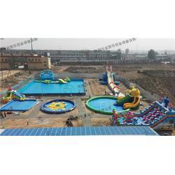 新疆水上乐园|河南沃金|移动水上乐园项目图片