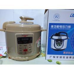 多功能5升预约型电压力锅 金色外壳数码显示功能礼品会销图片