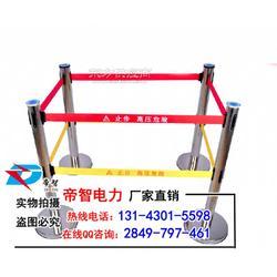 电厂安全伸缩围栏/不锈钢安全围栏图片