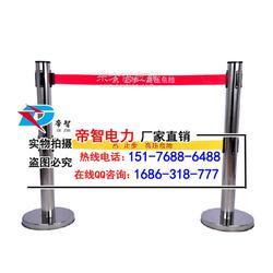 伸缩式带式围栏不锈钢反光字样警示带厂家图片