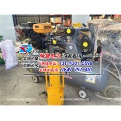 堤坝防汛气动打桩机/便携式打桩机操作方法