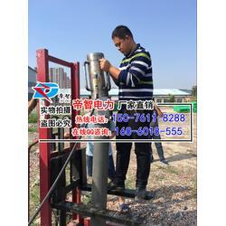 植桩机生产厂家,防汛打桩机,便携式防汛抛投器图片