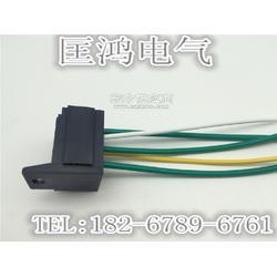 12V/24V40A/60A/80A汽车继电器底座 带靠背固定插座 汽车线束专用插头图片
