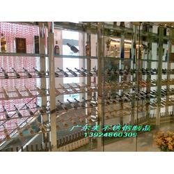 南京不锈钢酒柜厂家-不锈钢酒柜-不锈钢酒柜供应图片
