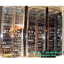 不锈钢酒柜工艺,建宁县不锈钢酒柜,广尔美(查看)图片