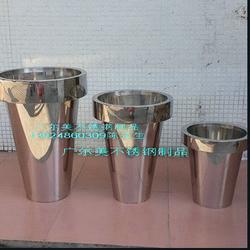 不锈钢花盆-镜面不锈钢花盆摆设(在线咨询)不锈钢花盆尺寸图片