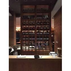 不锈钢酒柜、定做玫瑰金不锈钢酒柜、镜面不锈钢酒柜图片