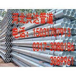 630大口径镀锌钢管-兴达管道-吉安镀锌钢管图片
