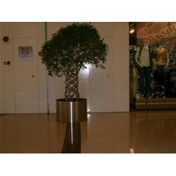 广尔美不锈钢花盆、不锈钢花盆、广尔美(查看)图片