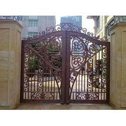 别墅铁艺大门尺寸-铁艺大门-定制围栏就选双赢铁艺(查看)图片