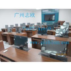液晶屏升降电脑桌厂家-液晶屏升降电脑桌-志欧图片