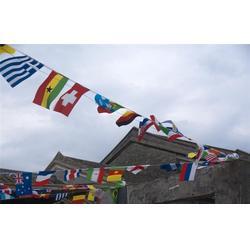 大海旗帜厂家直销 彩旗制作生产厂-张家口彩旗制作图片