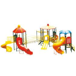儿童滑梯求购、衡阳儿童滑梯、鲁达健身器材公道图片