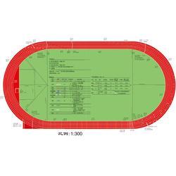 聚氨酯塑胶跑道,聚氨酯塑胶跑道多少钱,鲁达体育(优质商家)图片