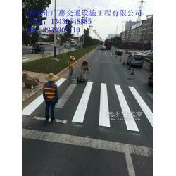 车位划线道路斑马线施工队图片