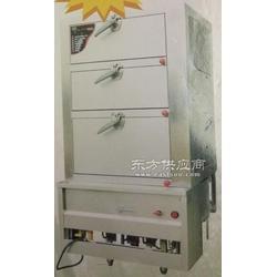 厨具加工定制厨房燃气型三门海鲜蒸柜、蒸饭柜、蒸柜图片