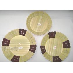 竹制隔热垫竹制锅垫图片