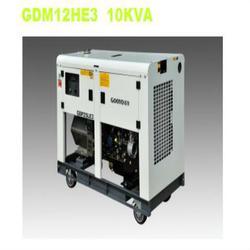 静音发电机,10KW柴油静音发电机厂,无锡安盛动力设备图片