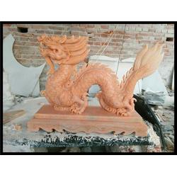 生肖雕刻龙-旺通雕塑图片