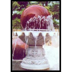 大型汉白玉风水球,旺通雕塑,云南汉白玉风水球图片