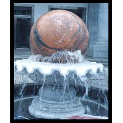 大理石风水球喷泉,广西风水球石喷泉,旺通雕塑图片