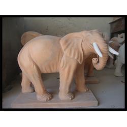 汉白玉石大象雕塑生产厂家 旺通雕塑(推荐商家)图片