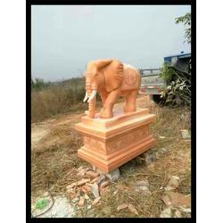 饭店门口石大象雕塑生产厂家 旺通雕塑(推荐商家)图片