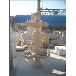 旺通雕塑(多图)、云南汉白玉石雕喷泉定做图片