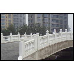 安徽雪花白大理石栏杆、旺通雕塑、雪花白大理石栏杆安装图片