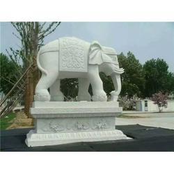 旺通雕塑_汉白玉精品大象厂家供应哪家便宜_汉白玉精品大象图片