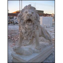 山西欧式石雕走狮,大理石欧式石雕走狮,石材狮子雕刻(多图)图片