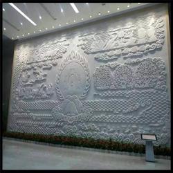 黑龙江石雕照壁-石雕影壁墙(优质商家)庭院摆放石雕照壁图片