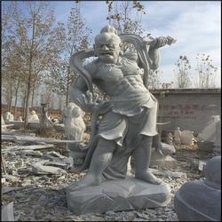 大理石哼哈二将雕像、江苏石雕哼哈二将、石雕四大天王像(查看)图片