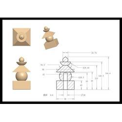 旺通雕塑 广西宝箧印塔 2米高宝箧印塔图片
