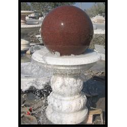 内蒙古欧式别墅庭院装饰、石材风水球图片