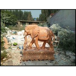 旺通雕塑(多图) 招财风水石材象图片