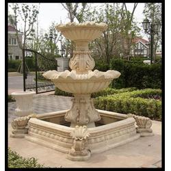 石雕喷泉样式(图),别墅黄锈石水钵喷泉,广西黄锈石水钵喷泉图片