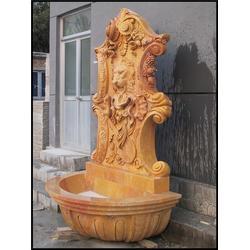 水池水钵雕塑-石雕喷泉图片