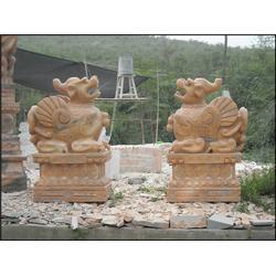 汉白玉,江苏麒麟石雕,麒麟石雕图片