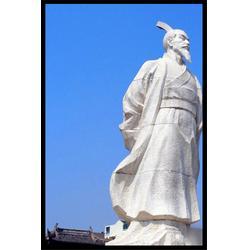 历史名人雕塑(多图)、汉白玉石雕范蠡像、内蒙古石雕范蠡像图片