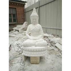 西藏石雕释迦摩尼像,仿古石雕佛像,大理石石雕释迦摩尼像图片