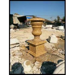 广东石雕花钵,欧式石雕花钵,大理石花钵图片