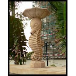 石喷泉厂家 公园石雕动物喷泉-云南石雕动物喷泉图片