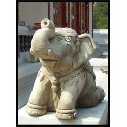 旺通雕塑(图) 石头象 河北石头象图片