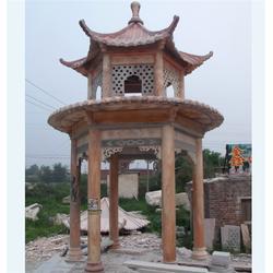 黑龙江古建石雕亭子,旺通雕塑图片