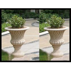 公园景观石雕欧式花钵|宁夏石雕欧式花钵|石头花盆(多图)图片