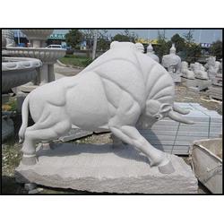 旺通雕塑、甘肃开荒牛、石雕开荒牛图片