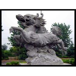 福建汉白玉雕刻石麒麟、旺通雕塑(在线咨询)图片